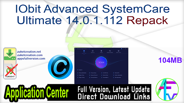 IObit Advanced SystemCare Ultimate 14.0.1.112 Repack