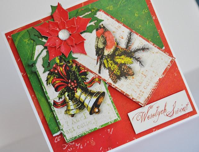 kolekcja papierów do scrapbookingu Hello Christmas