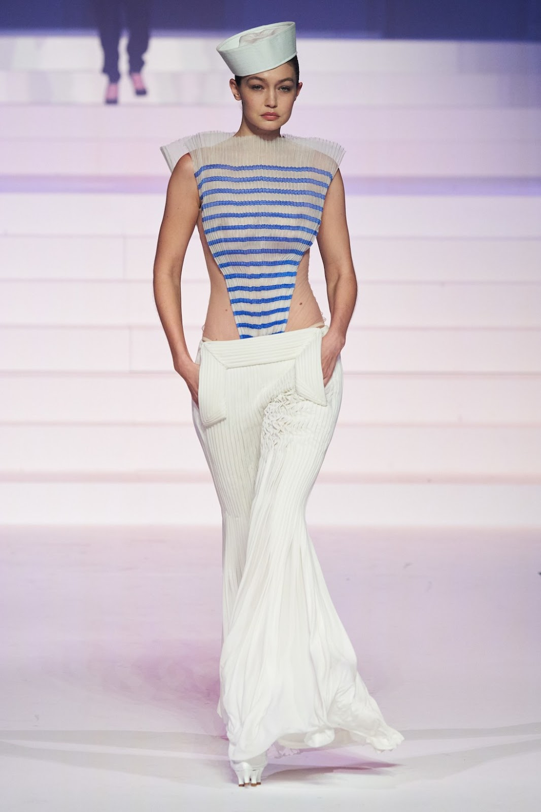 Gigi Hadid for Jean Paul Gaultier Haute Couture SS20