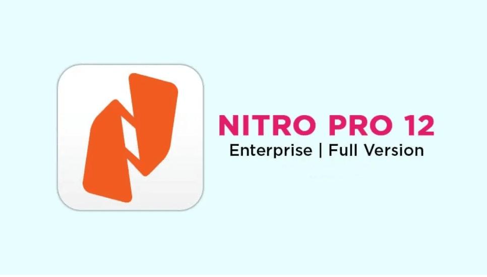 Download Nitro Pro 12 Full Version Gratis