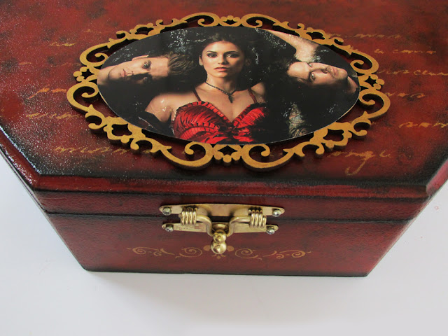 DIY: Como Fazer Porta Jóias MDF Vampire Diaries