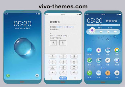 Round Drops Theme itz For Vivo Android