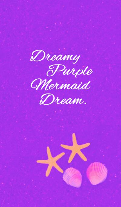 Dreamy Purple Mermaid Theme.