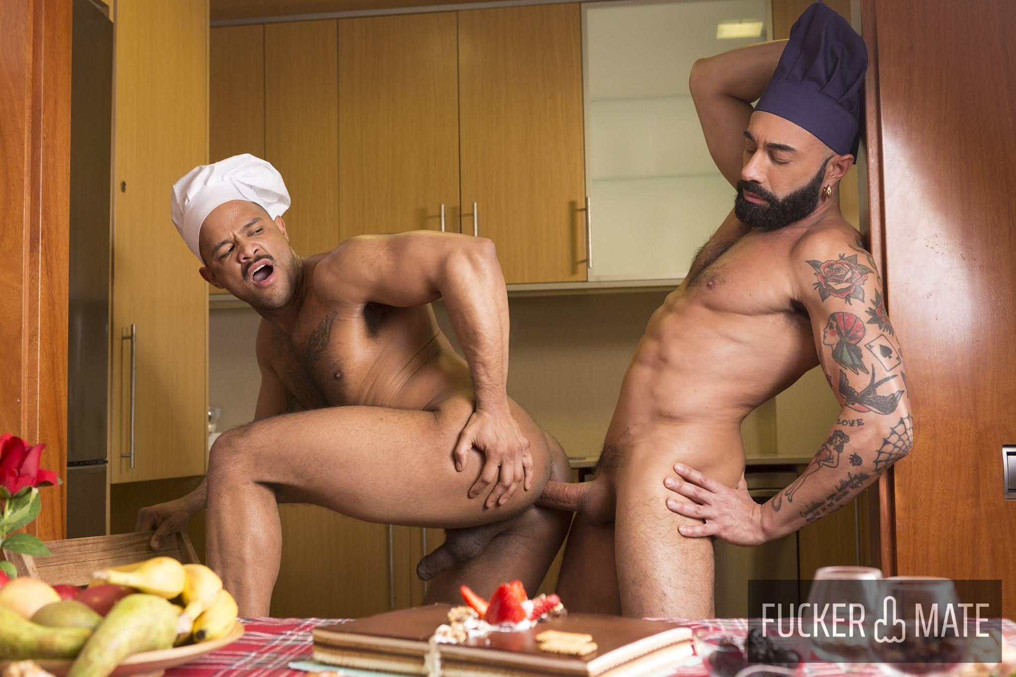 negro y chef, sexo
