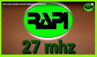 Di RAPI 27 Mhz Komunikasi Jarak Jauh Om Odol JZ27XD dengan JZ30TDF