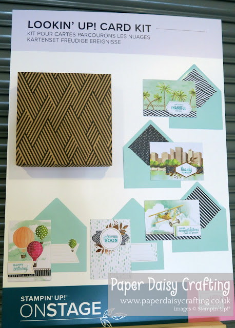 Looking Up Card Kit Stampin Up