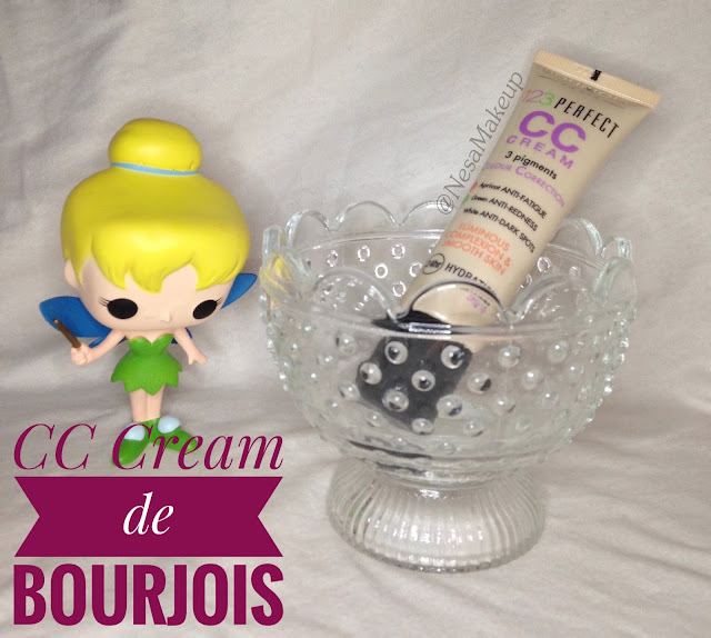 CC cream 123 perfect Bourjois NesaMakeup