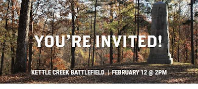Join us at Kettle Creek on February 12