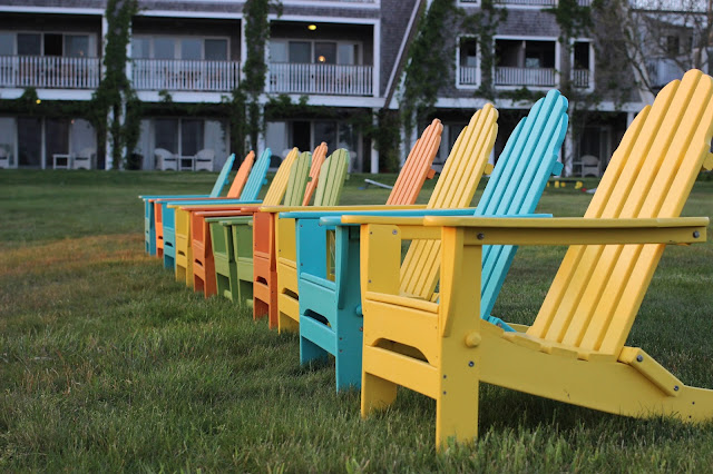 Adirondack Chairs | Winnetu | Martha's Vineyard | Chichi Mary Blog