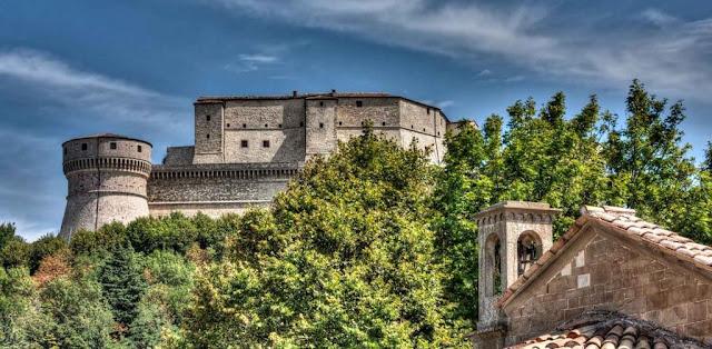 Rocca di San Leo - Luoghi piu' belli in Italia - Castelli e fortezze.