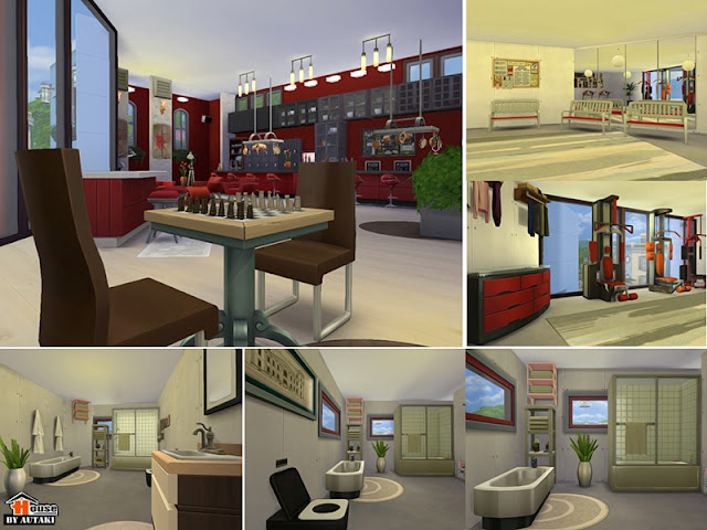 Amenities - Gym, Bathrooms etc.