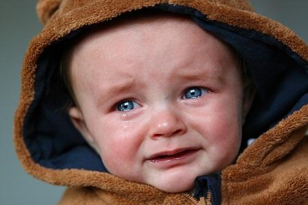 Download Crying sad baby photo