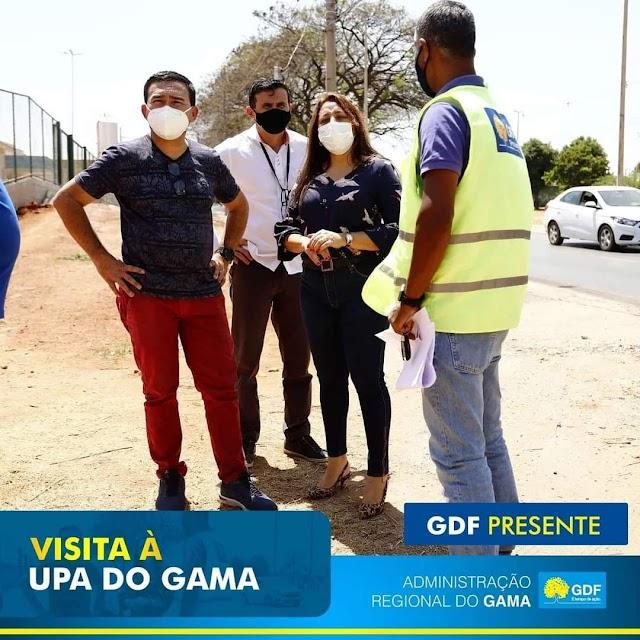 O Gama vai receber mais uma obra importante do Governo Ibaneis Rocha