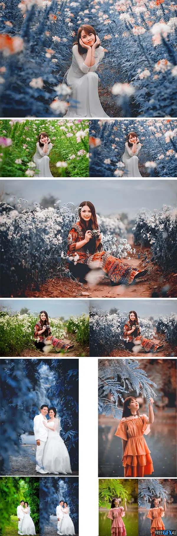 Cinematic Color Grading Effects Photoshop Action