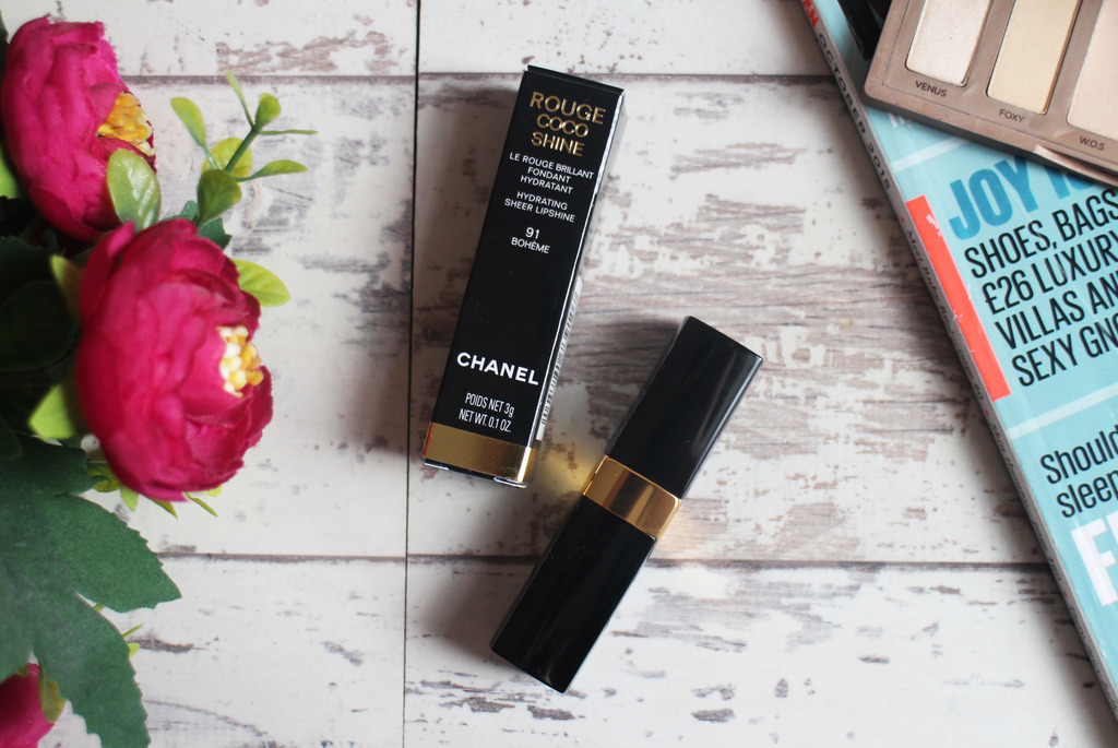 Chanel Rouge Coco Shine Lipstick in Boheme