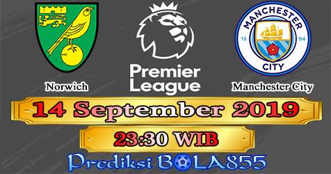 Prediksi Bola855 Norwich vs Manchester City 14 September 2019