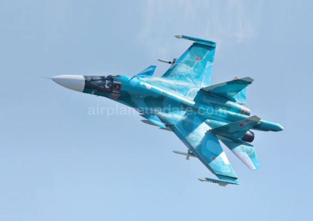 Sukhoi Su-34 Fullback Fighter Bomber