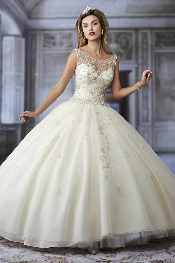 Voluminous Big Ball Wedding Ball Gowns 2016 | bridal wedding ideas