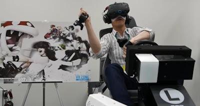 Nintendo primer juego realidad virtual