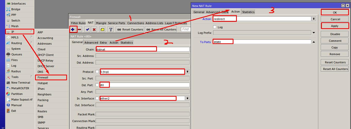 HTTPS WEB PROXY MIKROTIK - Mangle HTTP and HTTPS Traffic and