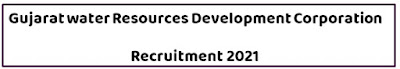 Gujarat Water Resource Development Corporation Ltd Recruitment 2021 For Data Entry Operator  And Other Vacancy
