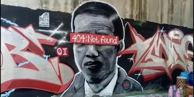 """Publikasi Universitas Melbourne: Kontroversi Mural """"404: Not Found"""" Gejala Demokrasi Indonesia Sedang Sakit"""