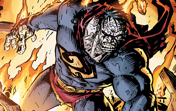 Bizarro New 52 Design Clone Superman