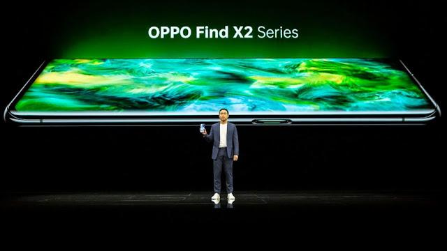 شركة أوبو تطلق سلسلة هواتفها الجديدة Find X2 بمميزات جديدة