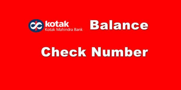 Kotak Mahindra Bank Balance Check Number Hindi