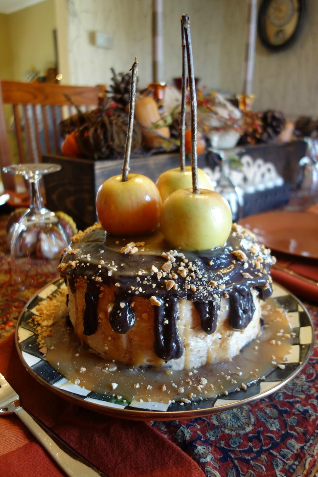Baked Apple Cake Recipe