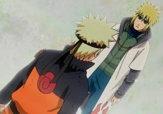 Minato dan Naruto Bertemu, ayah sebenarnya Naruto