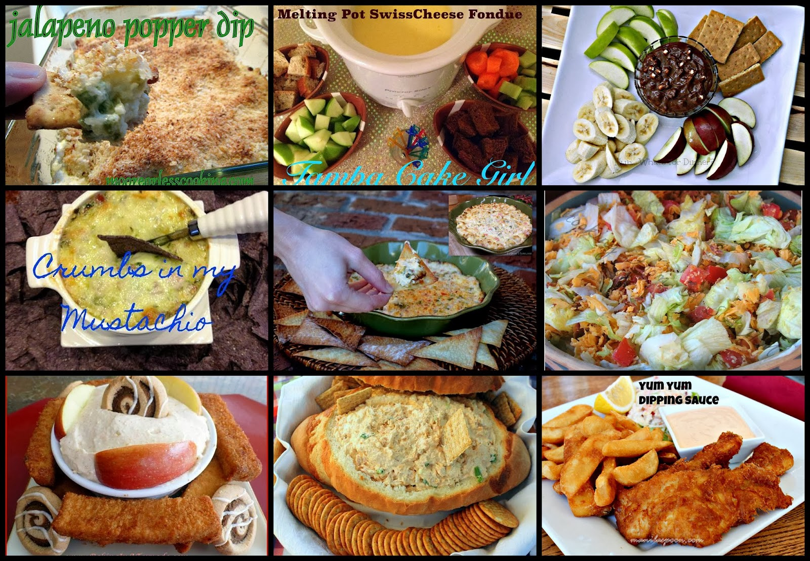 Dippin' in January – Seriously Delicious Dips Recipe Round Up