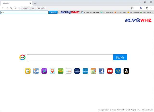 redirecciones de MetroWhiz