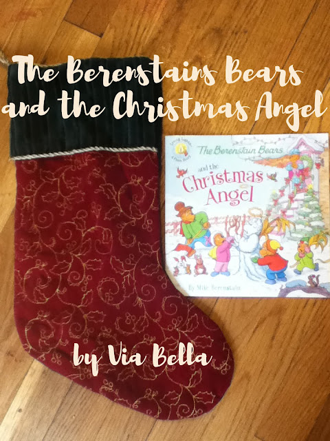 The Berenstains Bears and the Christmas Angel, Christmas, Christian, Faith, Winter, Snow, Snowman, The Berstain Bears, Mike Berenstain, Holidays, Books, Kids Books, Book Look Bloggers, Book Review, Not a favourite