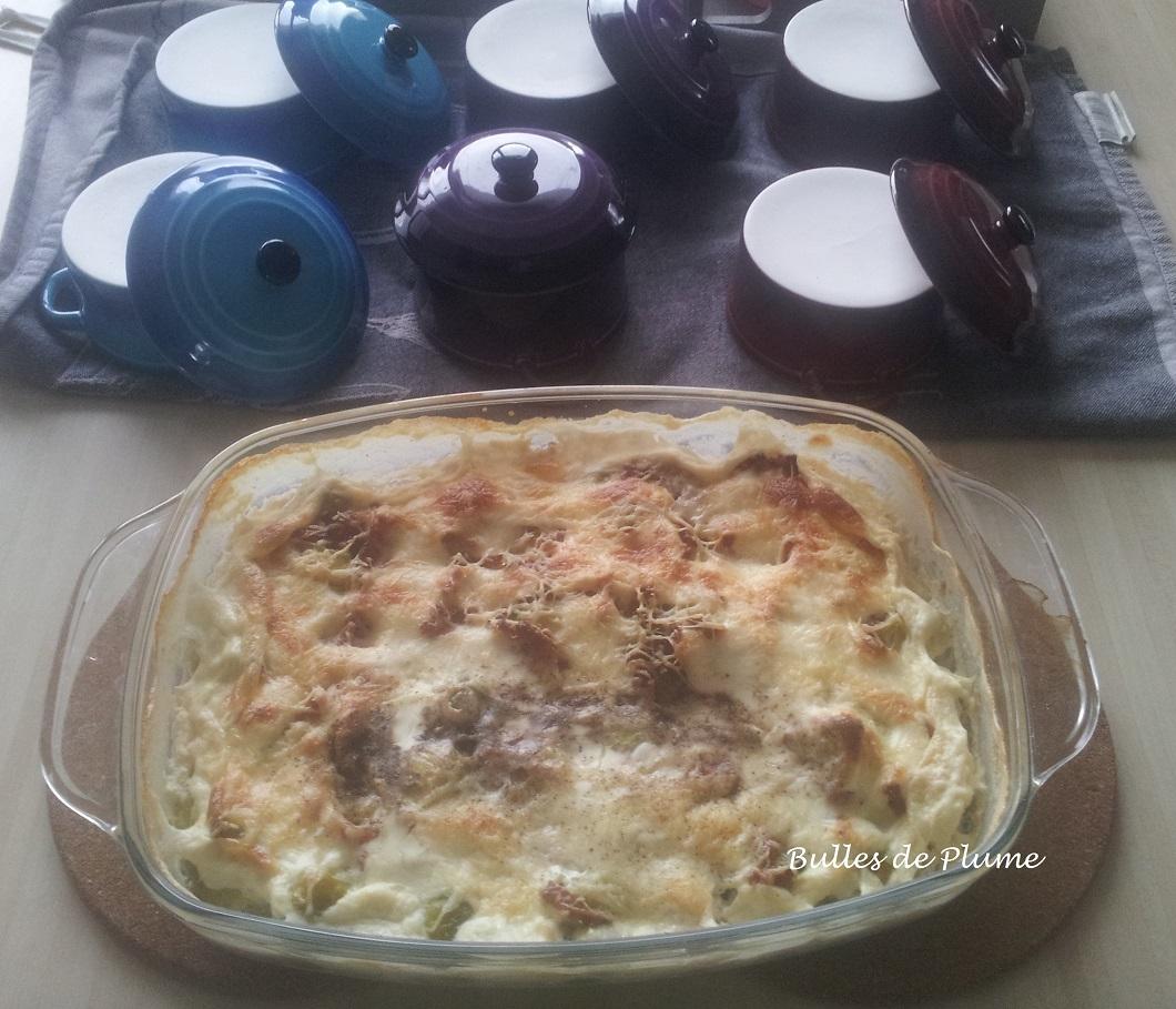 Bulles de plume recette gratin choux de bruxelles et lardons - Choux de bruxelles recette gratin ...