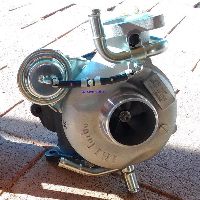 TD04 vs VF52 Turbo Comparison | torsive
