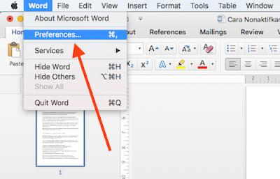 """Cara Nonaktifkan Fitur """"Autocorrect"""" Microsoft Word bagi Pengguna Mac"""