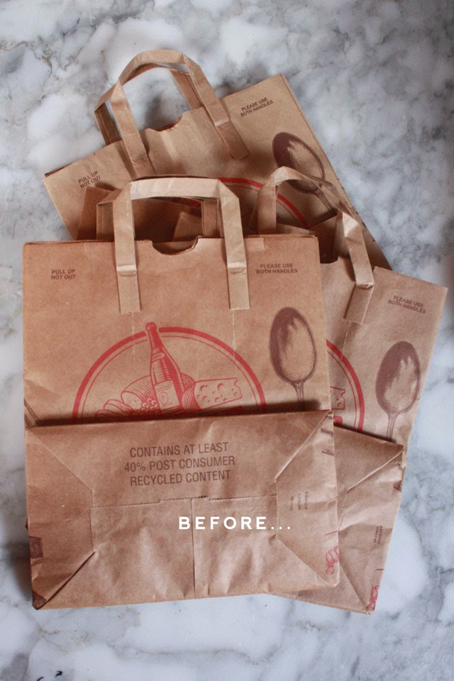 Two Folds For A Tall Container Three Shorty Considering They Are Paper These Ers Surprisingly Sy I M Using Grocery Bags Designed