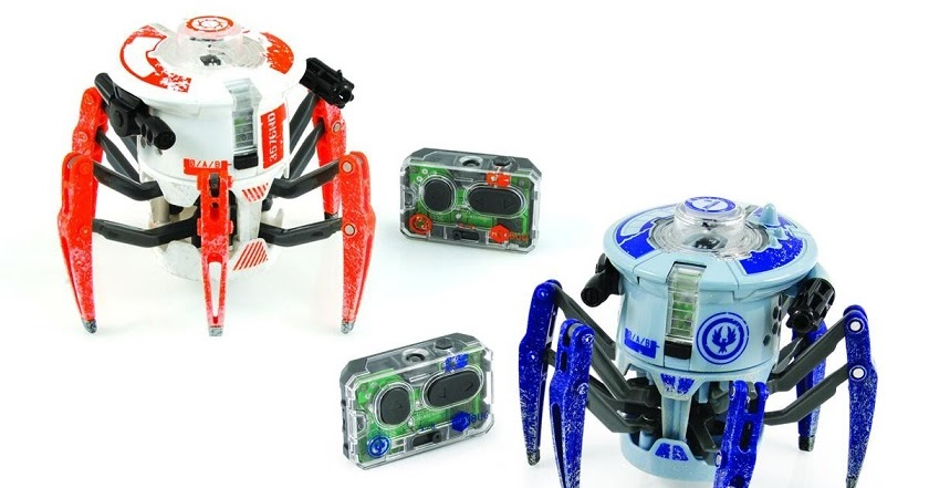 Review Hexbug Battle Spider Dual Pack The Test Pit