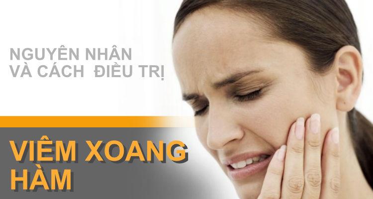 Viêm xoang hàm nguyên nhân và cách điều trị xoang999.com