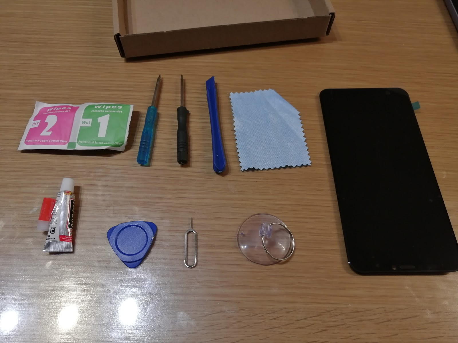 Zenfone5 ZE620KLディスプレイ交換キット