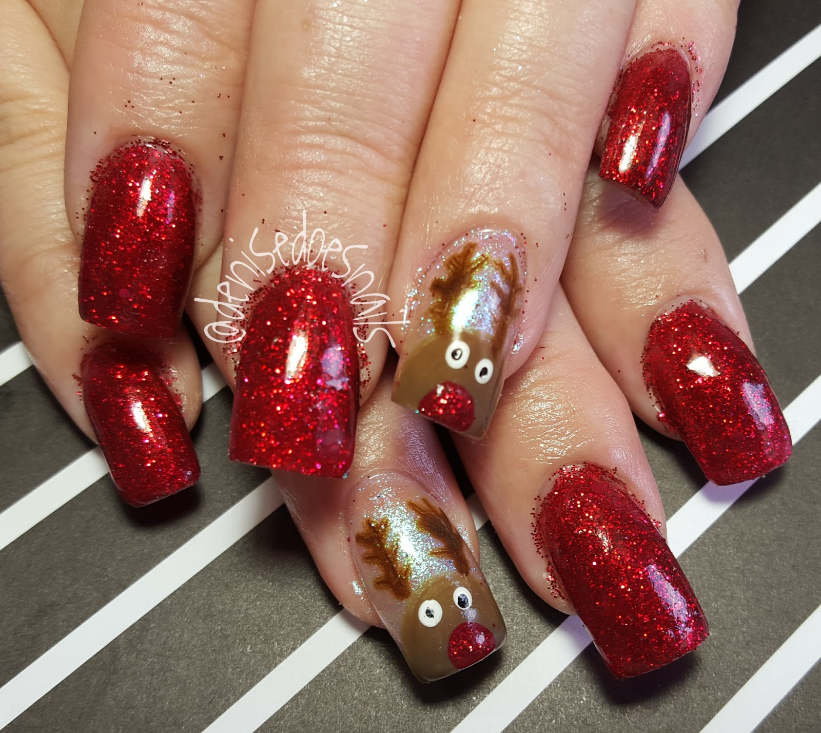 Christmas Nails Elf: Nail Art By Denise Groves: Merry Christmas