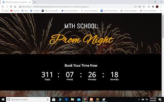 Countdown Theme Layout Wordpress DIVI