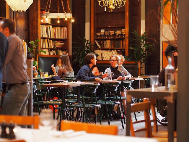 Brunswick House Cafe interior