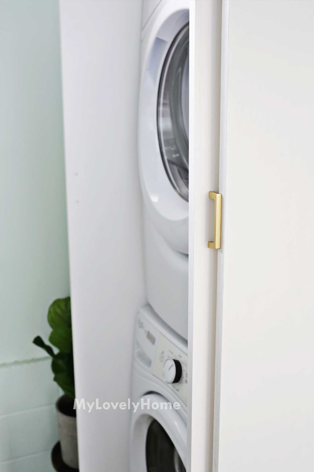 Washer And Dryer Enclosure Plans Best Placement For