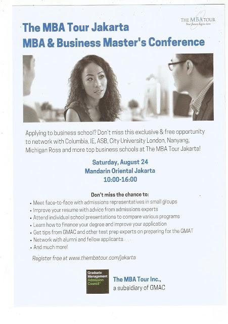 The MBA Tour Jakarta