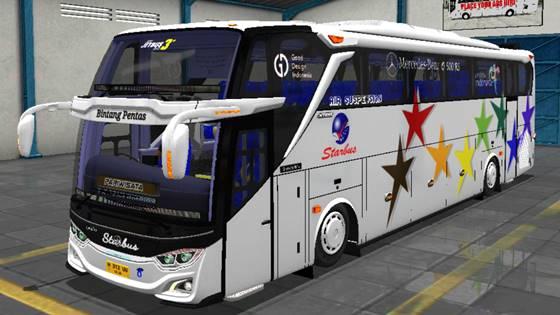 Livery JB3+ Mercedes Benz O500R Starbus