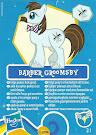 My Little Pony Wave 7 Barber Groomsby Blind Bag Card