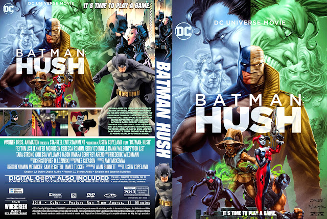 Batman Hush DVD Cover