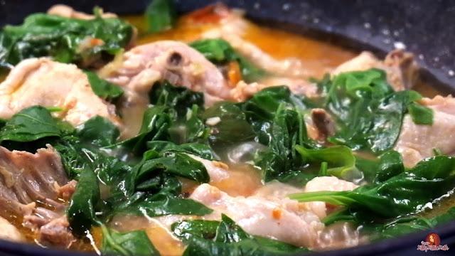 Como cozinhar Kinamatisang Manok para sua família. Querida Kitty Kittie Kath 2